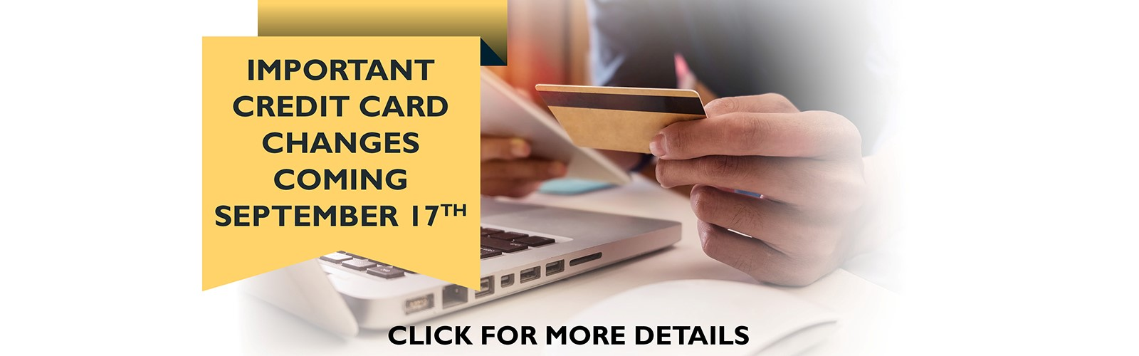 Important Credit Card Changes Coming September 17th